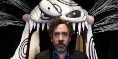Tim Burton ya está en México para inaugurar su exposición