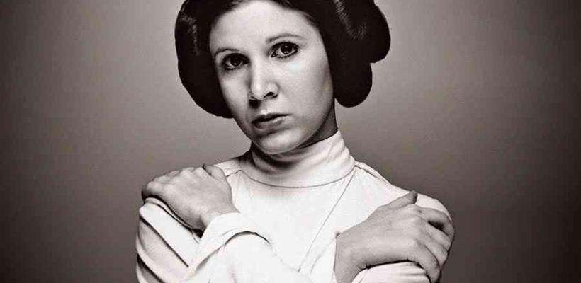 Rinden homenaje a Carrie Fisher en el primer evento de prensa de Star Wars: Los Últimos Jedi