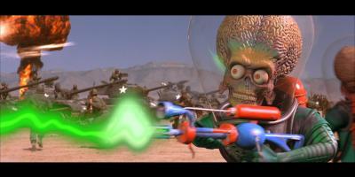 Culto o bulto: ¡Marcianos al Ataque! de Tim Burton