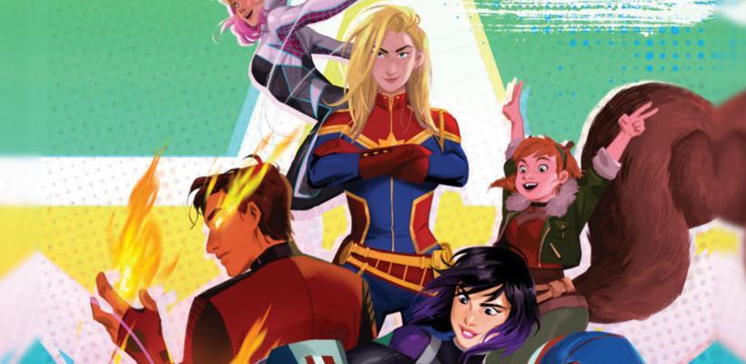 Marvel presentará a su nueva generación de superhéroes en la película Marvel Rising: Secret Warriors