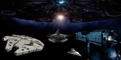 Las naves espaciales más grandes del cine de ciencia ficción