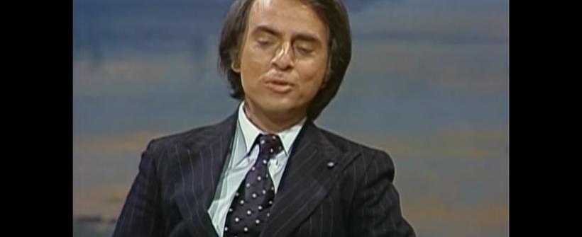 Entrevista a Carl Sagan en The Tonight Show with Johnny Carson