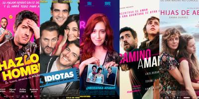 Las películas mexicanas más taquilleras producidas por Imcine en 2017