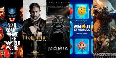 Las peores películas de 2017 según la crítica