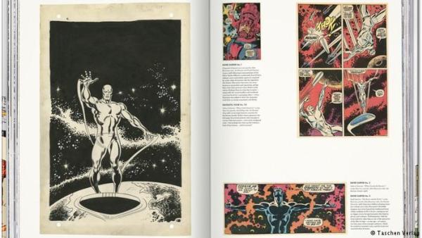 Interior de The Marvel Age of Comics 1961-1978