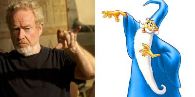 Ridley Scott podría dirigir la saga sobre el Mago Merlín de Disney
