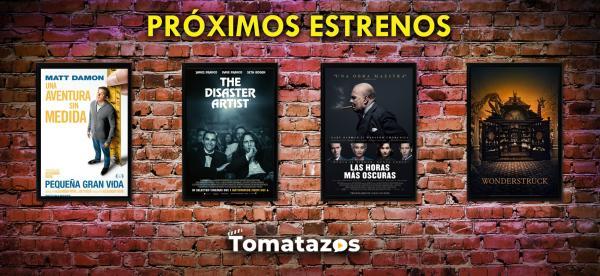 Próximos estrenos en cines de México del 19 de enero de 2018