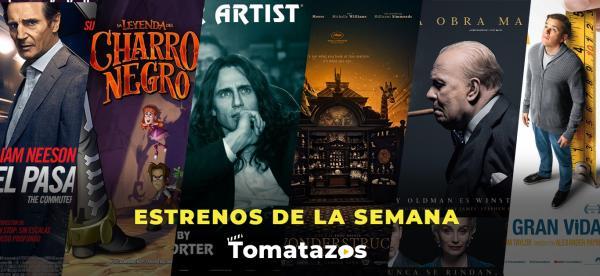 Cartelera de estrenos en cines del 19/01/2018