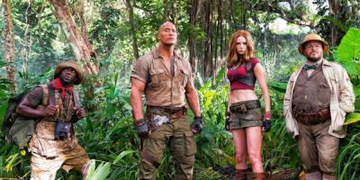 Jumanji en la Selva ya es el mayor éxito en la historia de Sony en los Estados Unidos