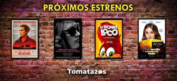 Próximo estrenos en cines del 26 de enero de 2018