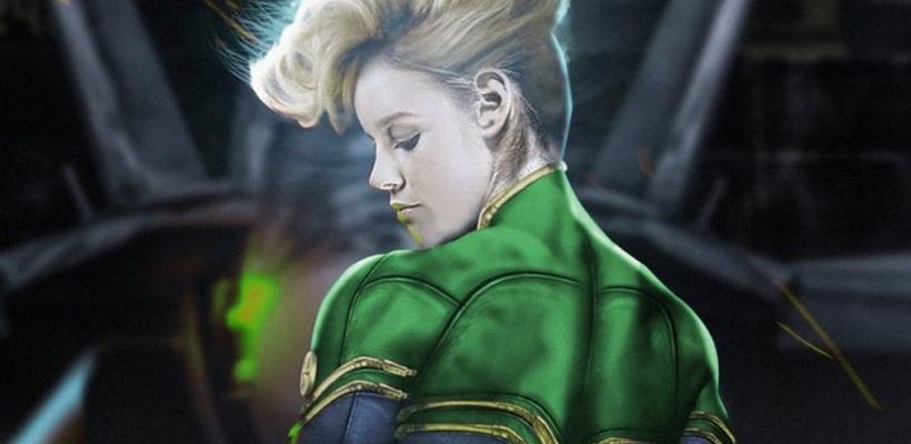 Un fan editó las primeras imágenes de Brie Larson como Capitana Marvel con los colores originales