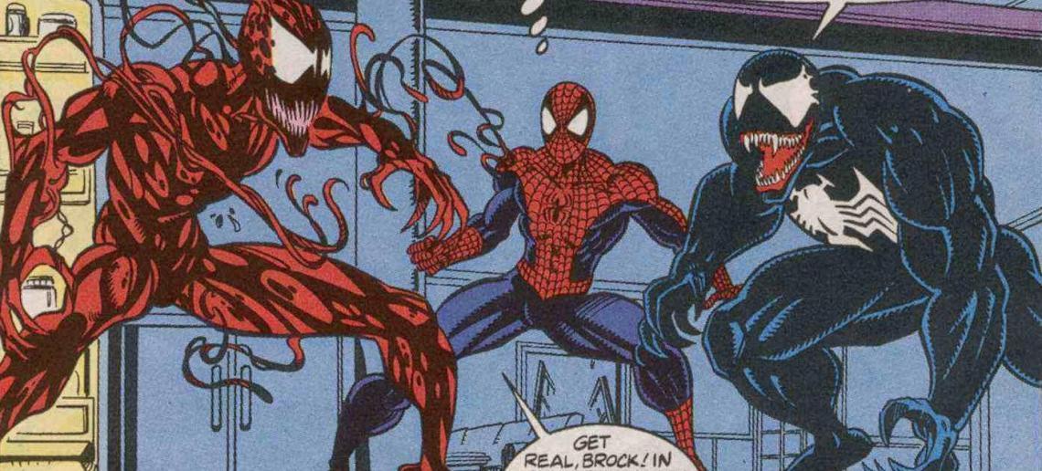 Nuevas Y A Acción Venom De Mirada Carnage Figuras Una Las PkuOiXZ