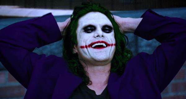 Tommy Wiseau como el Joker