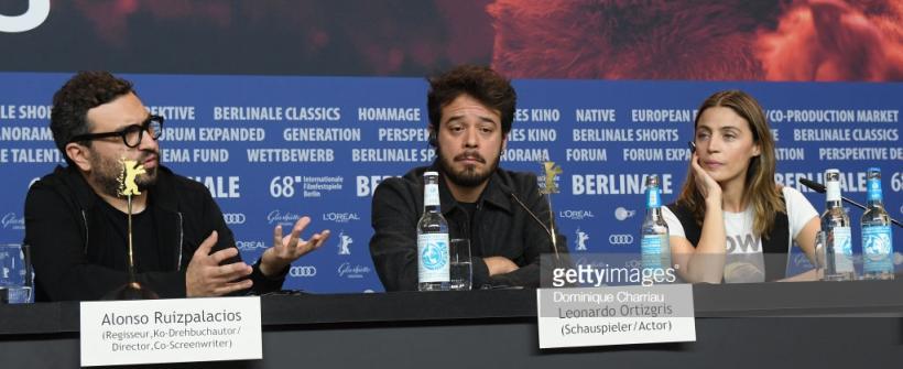 Museo - conferencia de prensa desde la Berlinale 2018