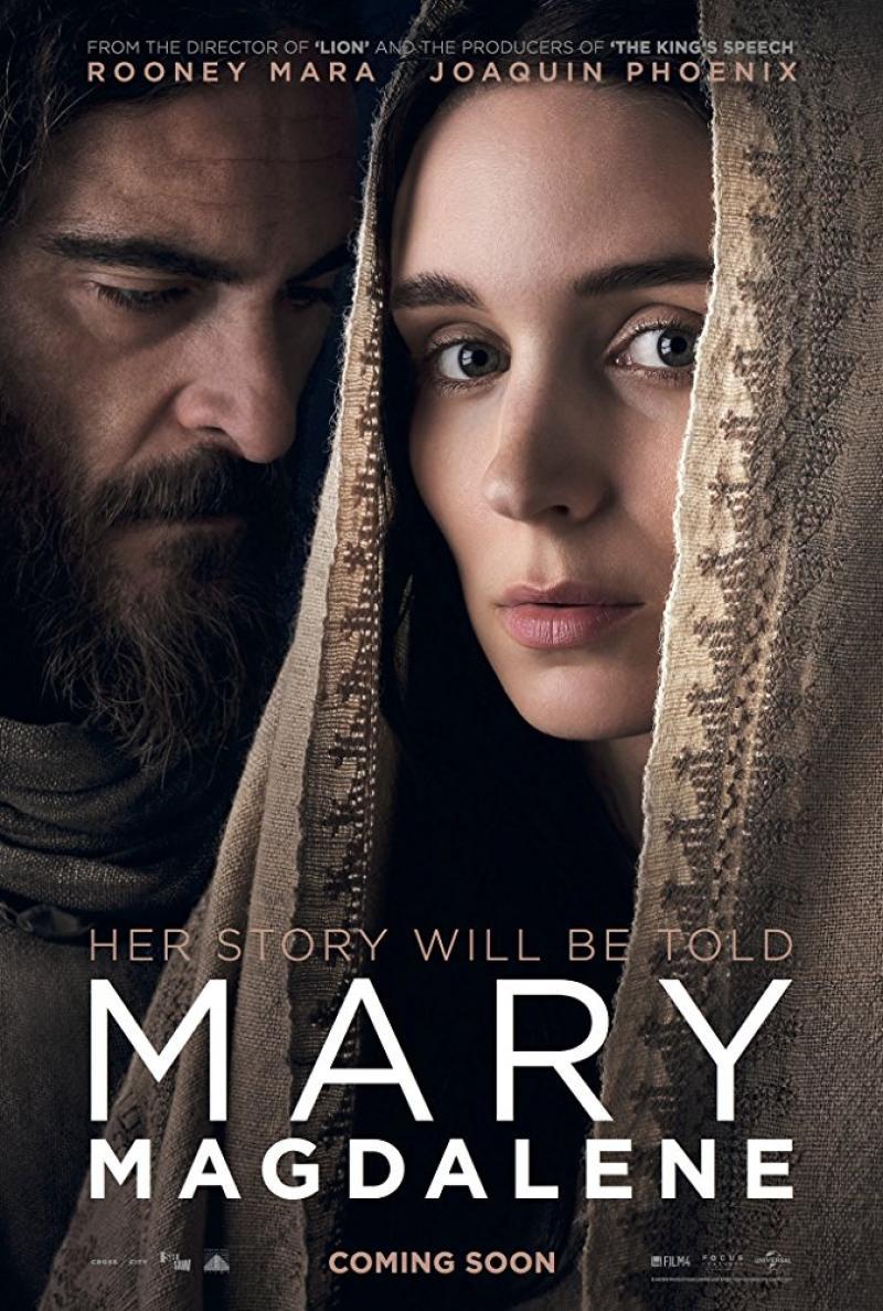 Joaquin Phoenix y Rooney Mara protagonizan la película  María Magdalena (2018)