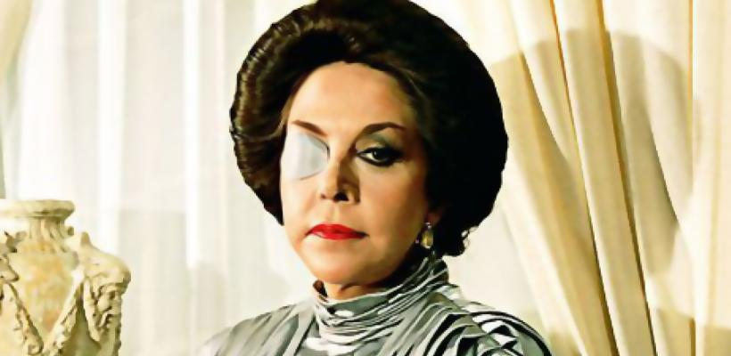 Adiós Catalina Creel (María Rubio), nuestro Darth Vader mexicano