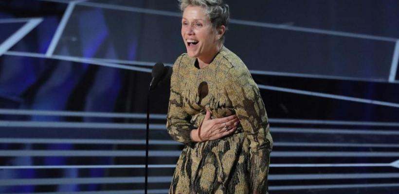 Óscar 2018: Frances McDormand pone de pie a la audiencia con su discurso tras recibir su premio