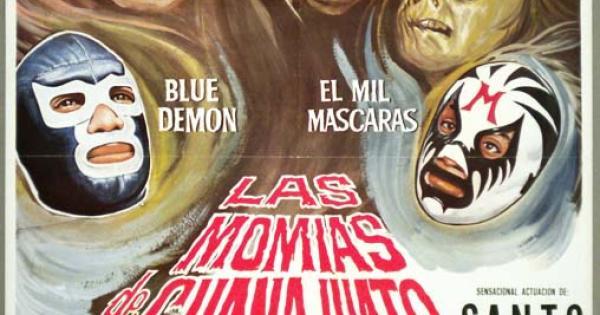 santo y blue demon vs las momias de guanajuato