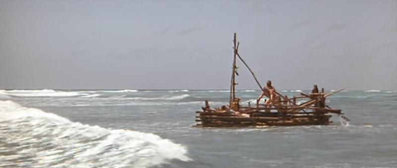 Lee Marvin en Infierno en el Pacifico (1968)