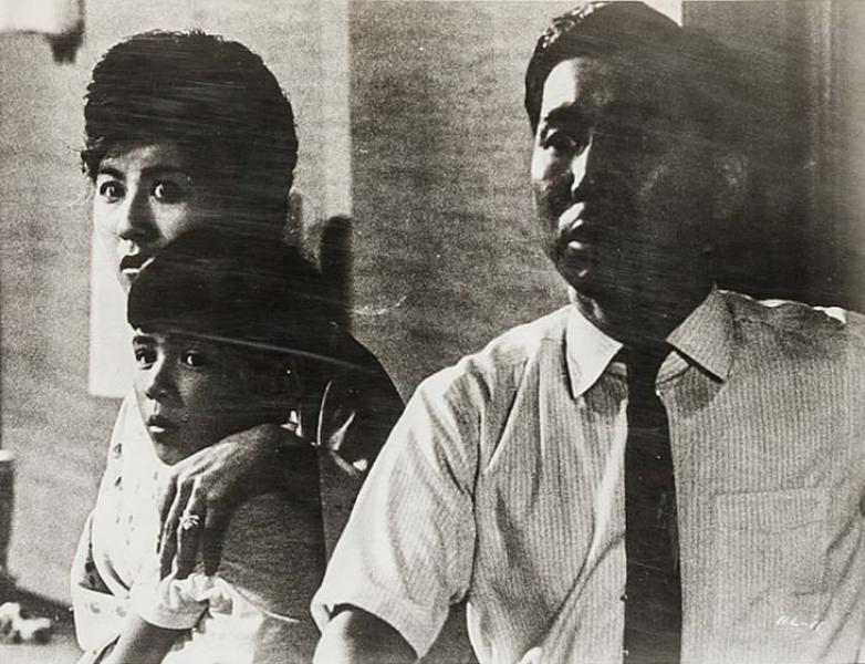 Kyôko Kagawa y Yutaka Sada en Cielo e infierno (1963)