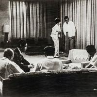 Toshirô Mifune y Tatsuya Nakada en Cielo e infierno (1963)
