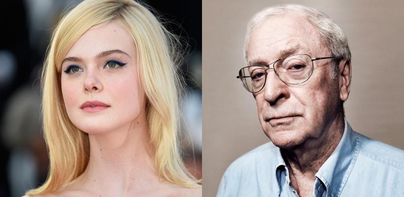 Elle Fanning y Michael Caine no volverán a trabajar con Woody Allen