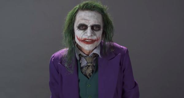 Tommy Wiseau audiciona para ser el Joker