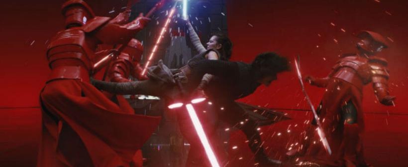 Star Wars: Los Últimos Jedi - Clip (sala del trono)