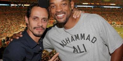 Will Smith vuelve a sorprender a sus seguidores bailando salsa con Marc Anthony