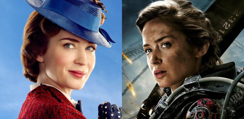 Emily Blunt rechazó la secuela de Al Filo del Mañana para hacer Mary Poppins Returns