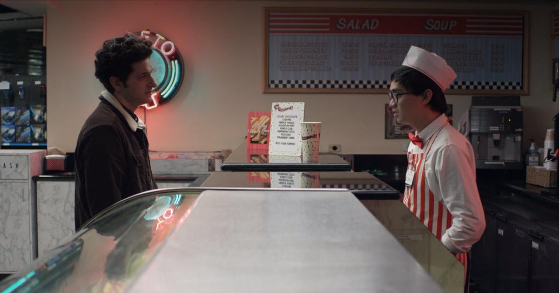 Ben Schwartz y Zedrick Restauro en Feliz Aniversario (2018)