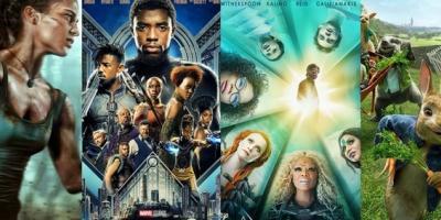 Las películas más taquilleras en lo que va de 2018