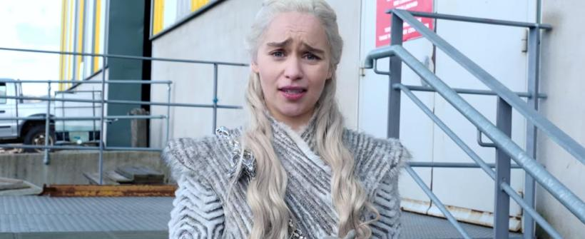 Tour en el set de Game of Thrones con Emilia Clarke