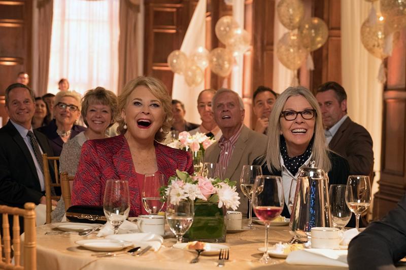Candice Bergen y Diane Keaton en Cuando Ellas Quieren (2018)