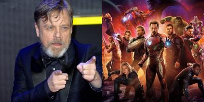 Mark Hamill felicita a Marvel Studios por el éxito de Avengers: Infinity War