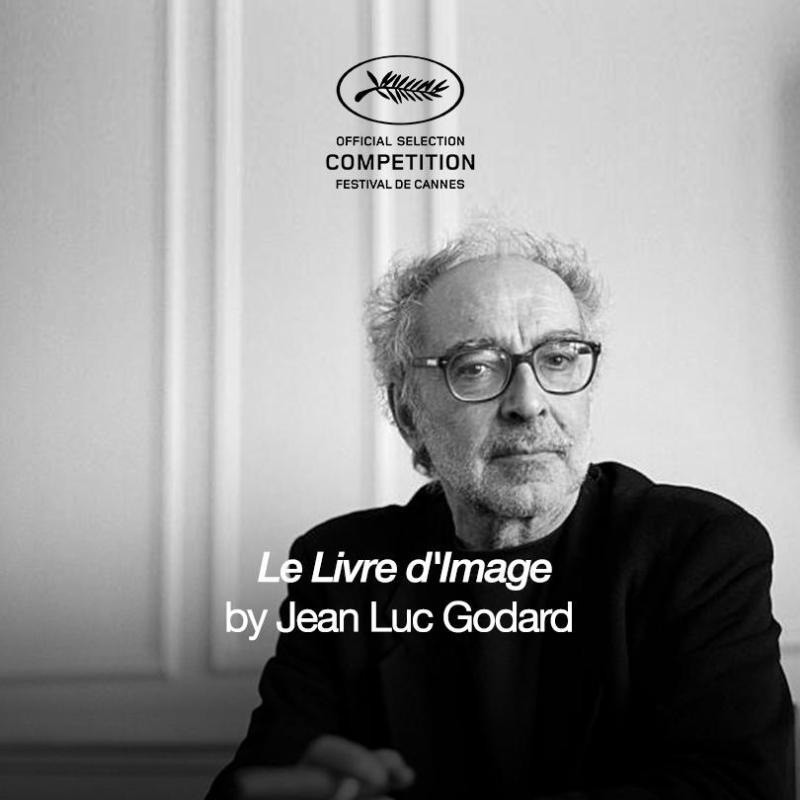 Jean-Luc Godard en Le Livre Dimage (2018)
