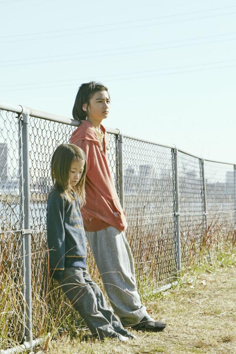 Miyu Sasaki y Jyo Kair  en Shoplifters (2018)