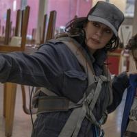 Nadine Labak y Zain Alrafeea en Capharnaüm (2018)