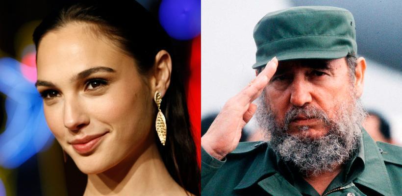 Gal Gadot producirá junto a su esposo una película sobre Fidel Castro