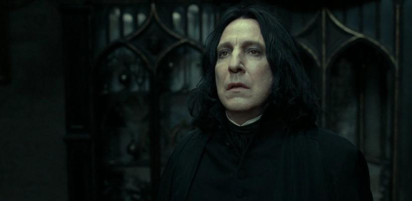 Alan Rickman se sintió frustrado con el papel de Snape en la saga de Harry Potter