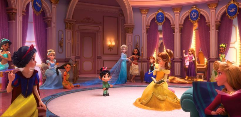 Ralph Breaks the Internet tendrá una épica reunión de princesas Disney