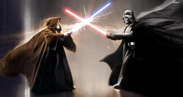 Fan recrea la pelea entre Obi-Wan Kenobi y Darth Vader