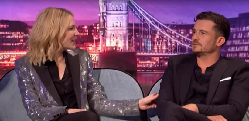 Orlando Bloom revela que estuvo enamorado de Cate Blanchett durante el rodaje de El Señor de los Anillos