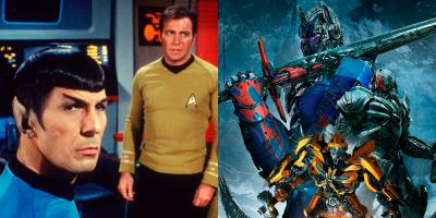 Anuncian crossover de Star Trek y Transformers