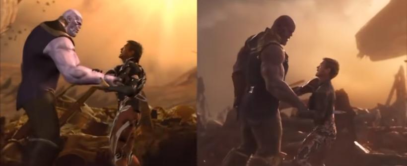 Avengers: Infinity War - Efectos especiales (Thanos vs Iron man y Dr Strange)