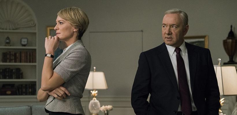 Patricia Clarkson dice que Robin Wright salvó House of Cards tras el despido de Kevin Spacey