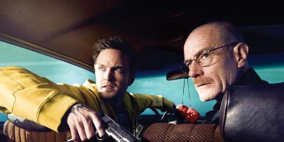 Aaron Paul y Bryan Cranston, protagonistas de Breaking Bad, están de visita en México