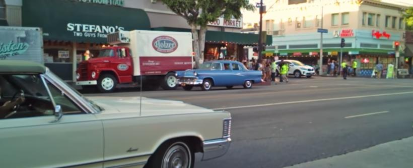 Video del set de rodaje de Once Upon a Time in Hollywood