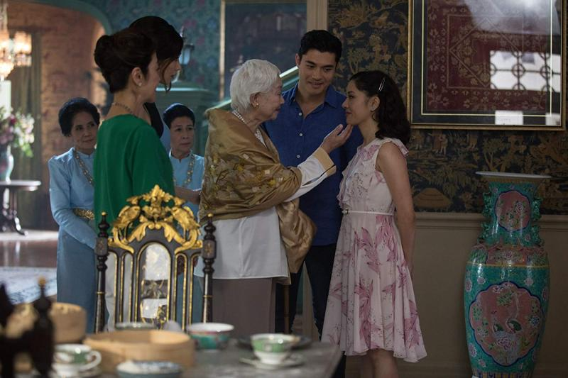 Michelle Yeoh, Constance Wu y Gemma Chan - © 2018 - Warner Bros. Pictures