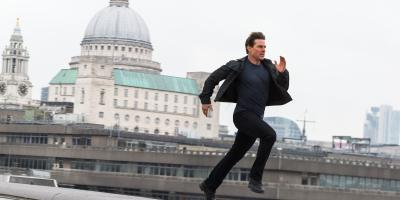 Matemáticamente, las películas de Tom Cruise son mejores entre más corra en pantalla